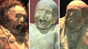 """Momias de Guanajuato salen del anonimato para recibir """"dignidad humana"""""""
