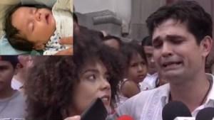 Pareja de Ferdinando Valencia se defiende tras críticas por no llorar a su bebé