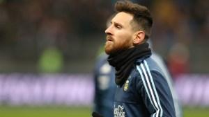 Argentina anuncia sus amistosos con la mira en Rusia