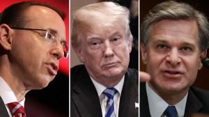 Investigación del FBI: Trump presiona al Dept. de Justicia