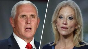 Pence y Conway salen en defensa del presidente Trump