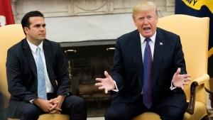 """Trump: muertes por María subieron """"por arte de magia"""""""