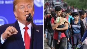 """Trump dice que """"resolvió"""" el tema del asilo en la frontera"""