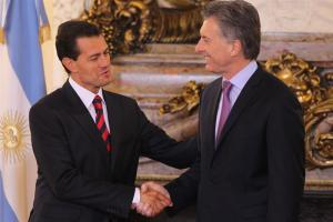 """Nuevo """"clima de entendimiento"""" entre México y Argentina"""