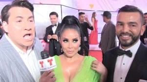 """Lucho y Juan Manuel le dan con todo a """"La Venenosa"""" y ella se defiende"""