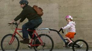 A la escuela en bicicleta