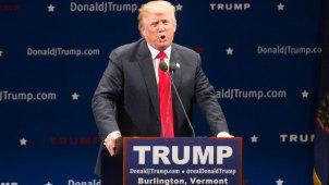 """Partido Republicano: Trump es el """"presunto nominado"""""""