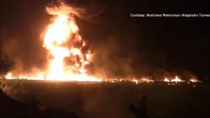 """""""Ayúdame güey, me muero"""": fuerte video capta momento de la explosión"""