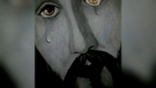 Aseguran que cuadro de Jesús llora y hace milagros