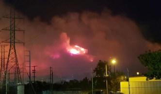 Incendios afectan la calidad del aire en Los Ángeles