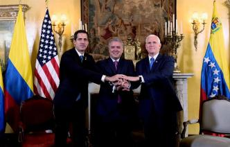 Crisis de Venezuela: Pence se reúne con Grupo de Lima