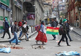 Bolivia: Incertidumbre en el primer día sin Evo Morales