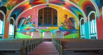 Asi luce la primera Iglesia de la Marihuana