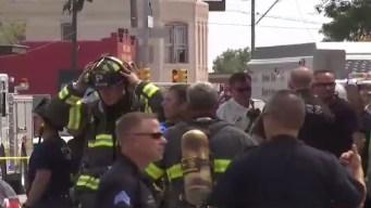 Autoridades investigan causa de explosión en apartamentos