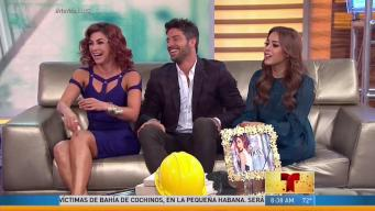 """David Chocarro y Aracely Arámbula llegan candentes en """"La Dona"""""""