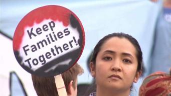 Familias que enfrentan la deportación sufren en el día del padre