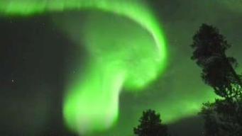 Graban espectacular aurora boreal