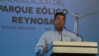 Reynosa: Invierten millones de pesos para parque eólico