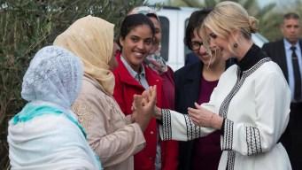 Ivanka Trump se reúne en Marruecos con mujeres rurales