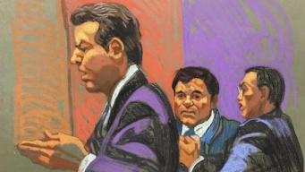 """Jurado """"huye"""" en inicio del juicio de """"El Chapo"""""""
