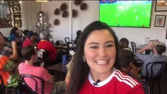 La emoción de la Fifa 2018 se hace sentir en el 2do día
