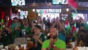 Mexicanos en Denver celebraron victoria contra Alemania