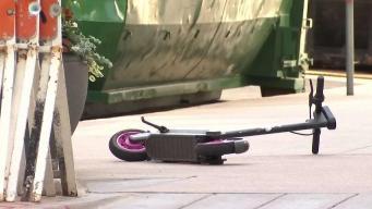 Nuevo accidente en las vías de Denver con una scooter