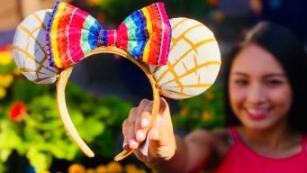 """Disney lanza orejas de """"Minnie"""" inspiradas en el pan dulce mexicano"""