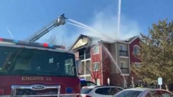 Registran incendio en apartamentos de Denver