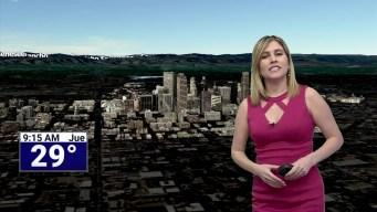 Influencia anticiclónica en todo Colorado