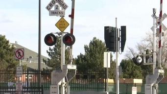 Recomendaciones para cruzar la línea del tren ligero