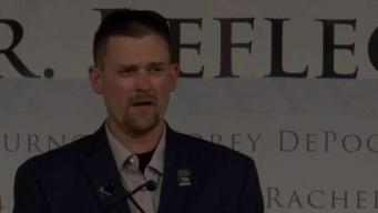 """""""Superé 49 cirugías para volver a caminar"""": Sean Graves, sobreviviente de Columbine"""