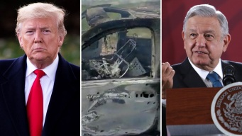 """Trump ofrece """"guerra"""" tras matanza; AMLO la rechaza"""