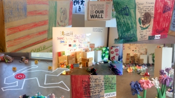 Estudiantes de Denver alzan su voz a través del arte