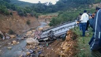 Tragedia en Túnez: accidente de autobús deja 26 muertos