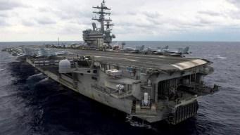 Se estrella avión militar de EEUU con 11 a bordo