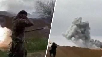 En video: desde la trinchera, la batalla final contra ISIS