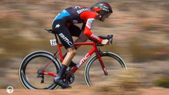 Ciclistas corren el Tour de Utah