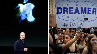 Apple se mete en la batalla legal a favor de los dreamers