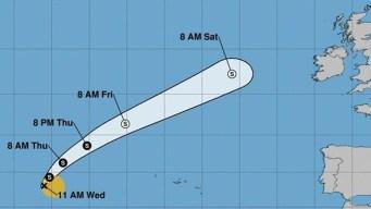 Pronostican debilitación de la tormenta subtropical Ernesto
