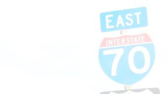 Por exceso de sol, CDOT cerró la I-70 el lunes por la mañana