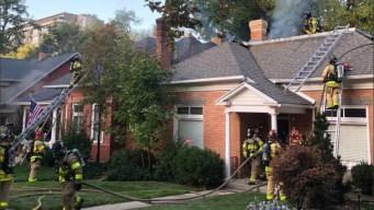 Dos casas afectadas por voraz incendio en Salt Lake City
