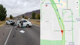 Auto toma vía contraria y ocasiona fatal accidente