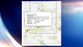 Sismo de 3.0 estremece el sur de Utah el miércoles