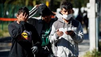 México: nueva caravana tiene actitud hostil y violenta
