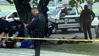 Acribillan a tres en Zapopan; policía captura a 5