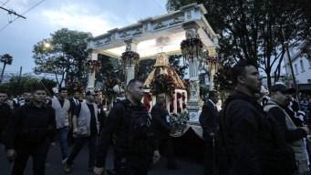 El fervor se desborda en romería religiosa