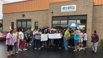 Protesta por falta de pago en compañía de West Valley