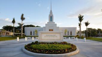 Nuevo templo de La Iglesia de Jesucristo en Haití