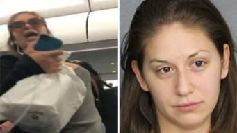 """Video: pasajera """"problemática"""" insulta a niño y la arrestan"""